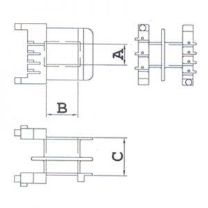 PTCD (Para Terminal Com Divisória) – Modelo 2