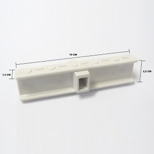 Grelha Branca 10 Centímetros (metro linear)